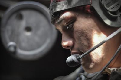 Patrol in Helmand Province, Afghanistan