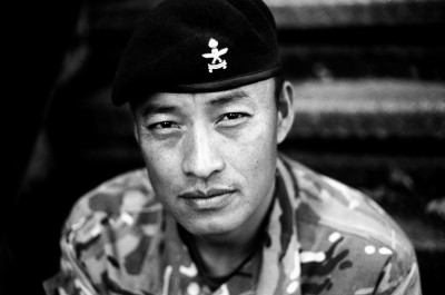 WO2 Krishna Pun, Queen's Gurkha Engineers