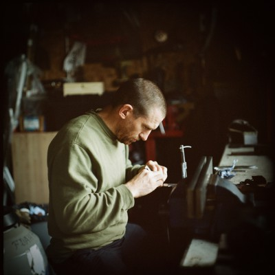 Guy Stainthorp, knifemaker, Staffordshire