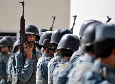 Afghan National Police Trainees