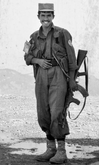 Afghan National policeman