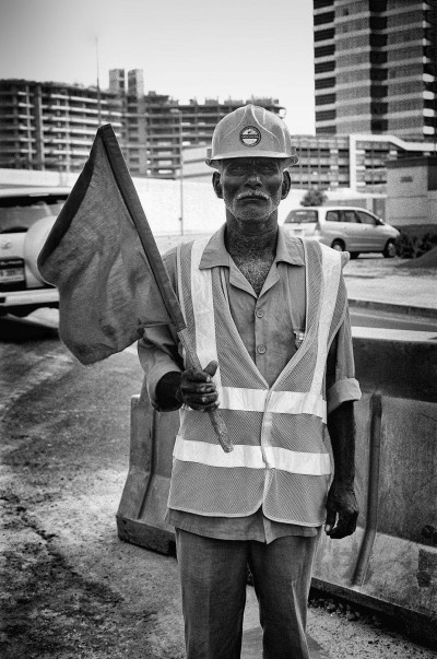 Construction worker, Dubai