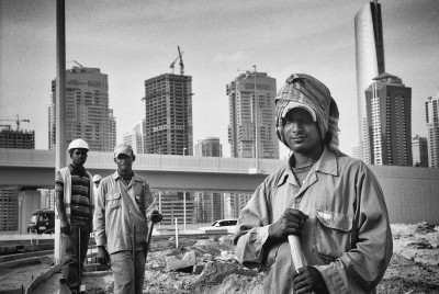 Construction crew, Dubai