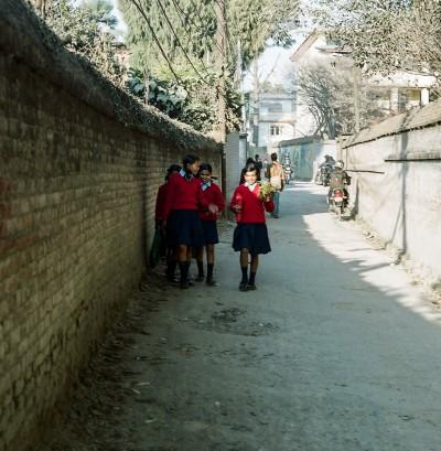 School break, Kathmandu, Nepal