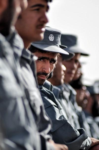 Afghan National Police graduates