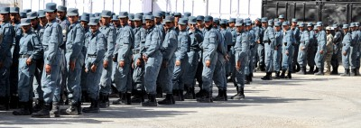 Graduating class of the Afghan National Police academy
