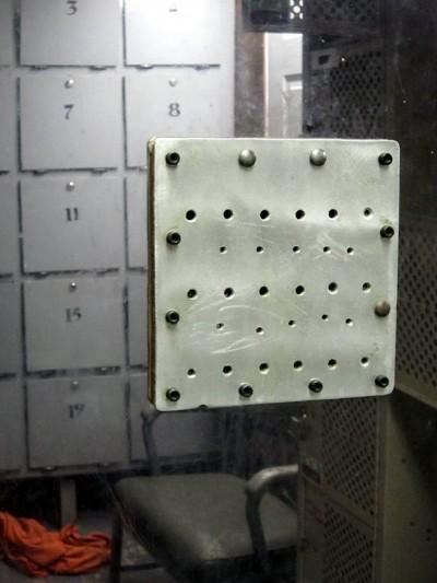Prison visitors' room, Missouri/US